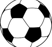 soccer ball by pechinus