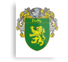 Duffy Coat of Arms/Family Crest Metal Print