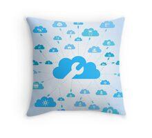 Industry a cloud Throw Pillow