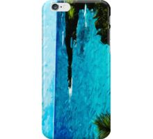 Black Sand Beach on the Road to Hana Maui Abstract Impressionism iPhone Case/Skin