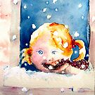 First snow by Sunflower3