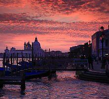 Venetian Sunset by Amos Zhang