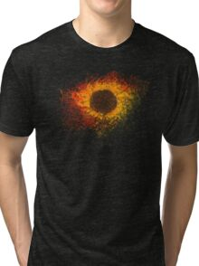 A flower of beauty and compassion Tri-blend T-Shirt