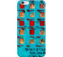 BINGO Card Abstract Impressionism iPhone Case/Skin