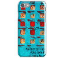 BINGO Card Abstract Impressionism iPhone Case/Skin