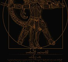 Vitruvian Hunters ( Black version) by Samiel