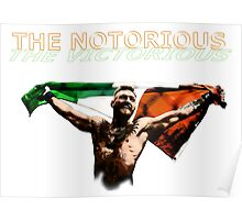 CONOR MCGREGOR - NOTORIOUS Poster