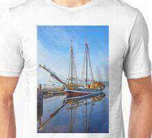 Tall Ship Larinda at Shelburne, Nova Scotia, Canada Unisex T-Shirt