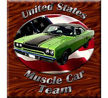 Plymouth Roadrunner Muscle car Team Photographic Print