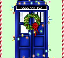 Tardis Christmas by vanessarainces