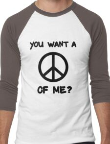 Passive Aggressive Hippie Men's Baseball ¾ T-Shirt