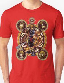 Kingdom Hearts Sora stained glass T-Shirt