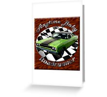 Plymouth Roadrunner Anytime Baby Greeting Card