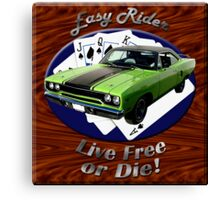 Plymouth Roadrunner Easy Rider Canvas Print