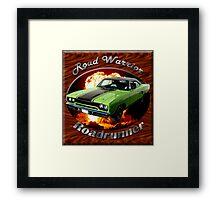 Plymouth Roadrunner Road Warrior Framed Print