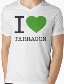 I ♥ TARRAGON Mens V-Neck T-Shirt