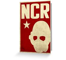 New California Republic Ranger Greeting Card
