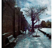Romantic Street by DFLC Prints