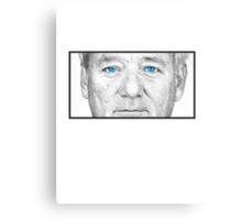 Bill Murray - Blue Eyes Canvas Print