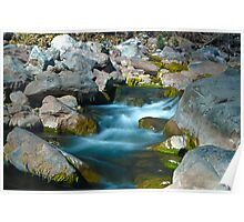 Beautiful water Swirls Poster