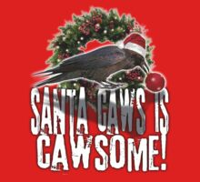 santa caws is cawsome! by redboy