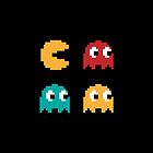 Pac Man Pixels by JamesShannon