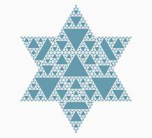 Sierpinski Triangle- Snowflake Kids Clothes