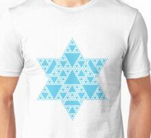 Sierpinski Triangle- Snowflake Unisex T-Shirt
