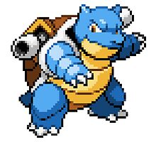 Pokemon - Blastoise Sprite by ffiorentini
