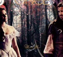 Outlaw Queen - In Another Lifetime Sticker