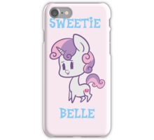My Little Pony: Chibi Sweetie Belle iPhone Case/Skin
