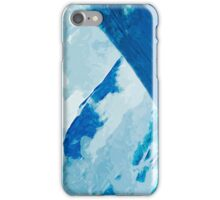 Denali in Clouds Abstract Impressionism iPhone Case/Skin