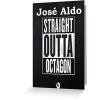 UFC Jose Aldo Vs Conor Mcgregor  Greeting Card