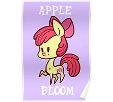 My Little Pony: Chibi Apple Bloom Poster
