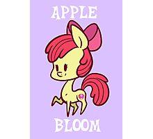 My Little Pony: Chibi Apple Bloom Photographic Print