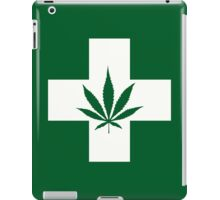 Weed Cross (v1) iPad Case/Skin