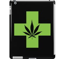 Weed Cross (v2) iPad Case/Skin