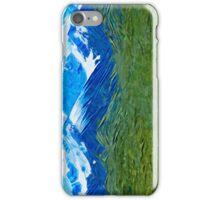 Denali Alaska Abstract Impressionism iPhone Case/Skin