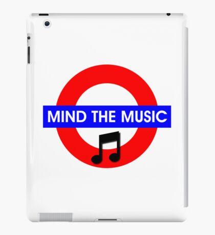 Mind the Music iPad Case/Skin