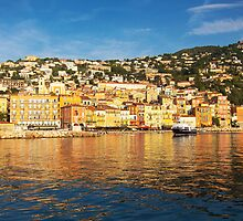Reflections of Villefranche by gleadston