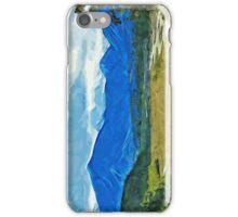 Denali Alaska Road Abstract Impressionism iPhone Case/Skin