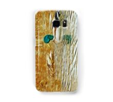 Mallard Ducks Swimming Abstract Impressionism Samsung Galaxy Case/Skin