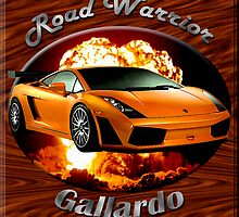 Lamborghini Gallardo Road Warrior by hotcarshirts