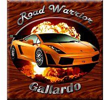 Lamborghini Gallardo Road Warrior Photographic Print