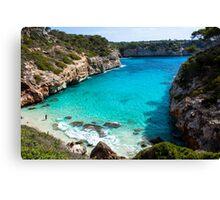 Mallorca / Calo des Moro Canvas Print