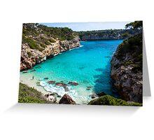 Mallorca / Calo des Moro Greeting Card