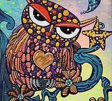 Mystical Owl by Laura Barbosa