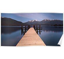 Lake Te Anau, New Zealand  Poster