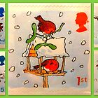 British Christmas Stamp Collection by ©The Creative  Minds