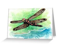 Dragonfly Notes Greeting Card